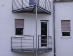 Metallbau Schweig - Stahlbalkon