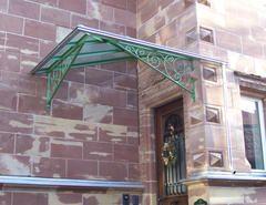 Metallbau Schweig - Geschmiedetes Vordach