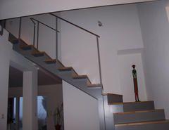 Metallbau Schweig - Treppe mit gekanteten Blechstufen