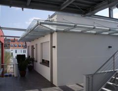 Metallbau Schweig - Stahlvordach